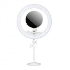 YN208 定常光ライト 単色/二色 照明・撮影ライト 円形ミラー付き