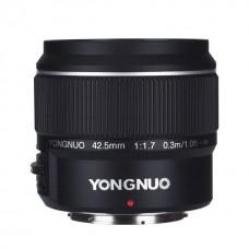 YN42.5mm F1.7M4/3 単焦点レンズ M4/3マウント