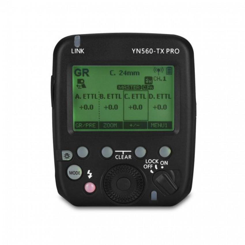 YN560-TX Pro C/N ワイヤレスフラッシュコントローラ